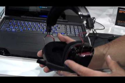 Plantronics Launches GameCom 780 Surround Sound Stereo USB Gaming Headset at 2012 CES