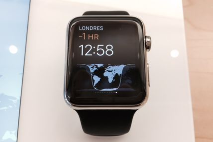 Premier contact avec l'Apple Watch ...