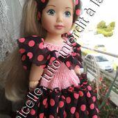 tuto gratuit poupée paola reina, chérie de corolle...:robe empiècement ruban - Chez Laramicelle