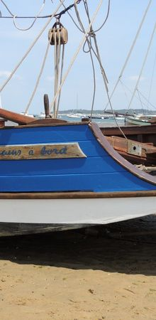 La régate des vieilles voiles au Cap-Ferret - Préparatifs...