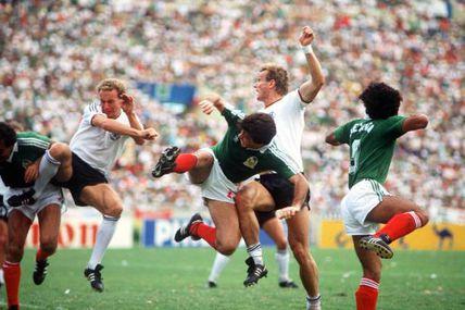 Coupe du Monde 1986 au Mexique, Quarts de finale: Allemagne de l'ouest - Mexique