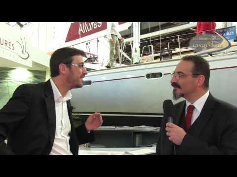 Interview Vidéo Nautic 2012 - Grand Large Yachting décline le Grand Voyage à la voile... et au moteur