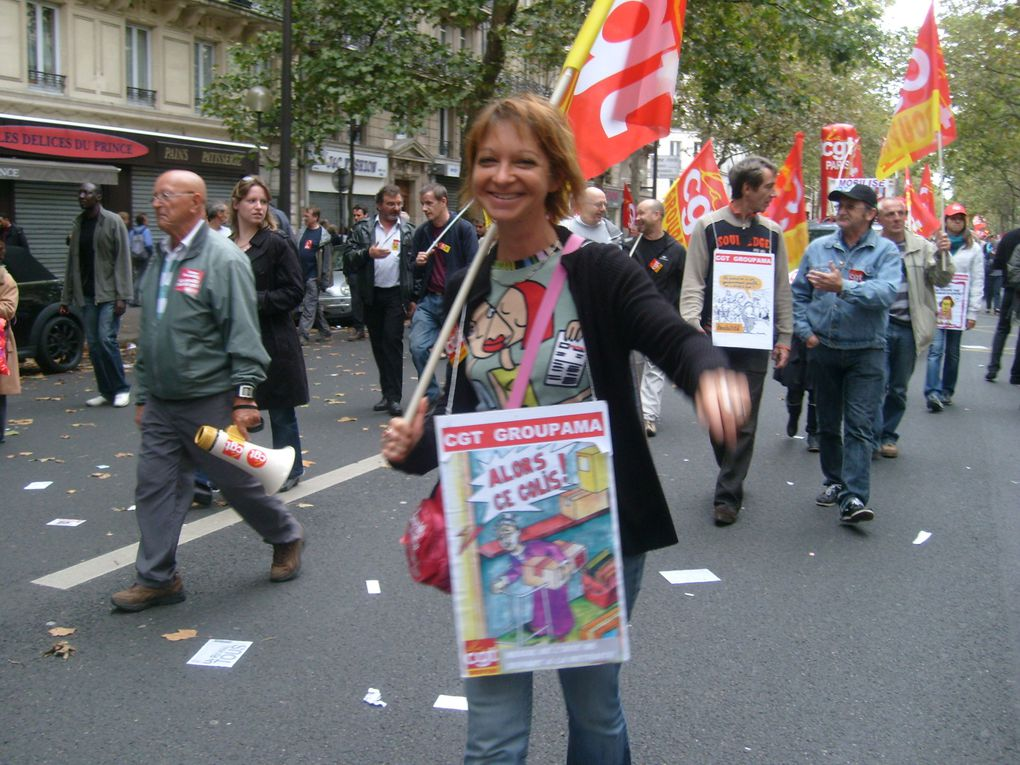 Album - 2 octobre 2010 Manif retraite Paris