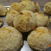 Boulettes de polenta et fromage au four - www.sucreetepices.com