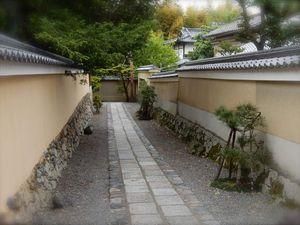 Kyôto : Le Myôshinji 妙心寺, tout un village de temples!