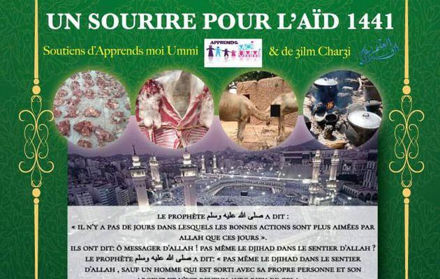 """""""Un sourire pour l'Aïd Al Adha"""" avec Sounnah Partage"""