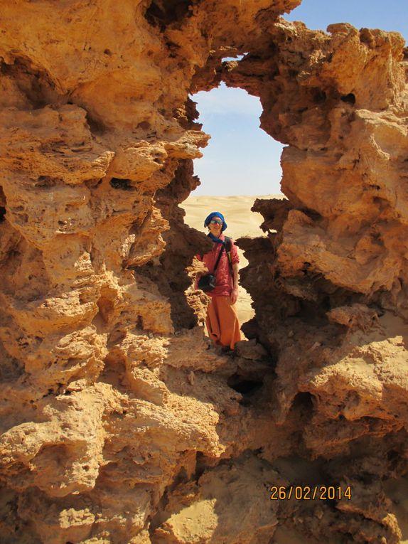 Qi Gong dans le désert avec Laurence Houlès du 23 février au 02 mars 2014