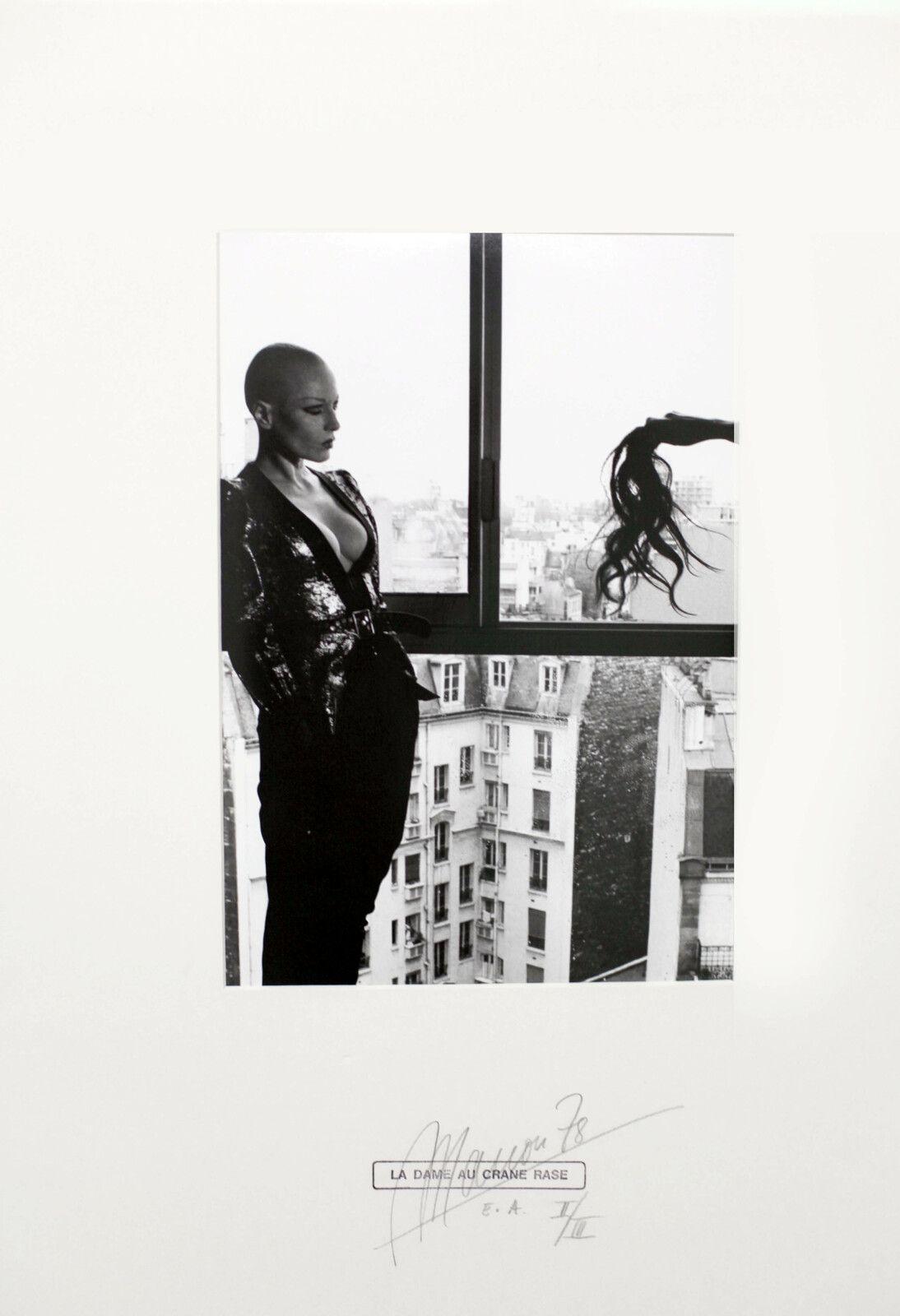 """""""La Dame au Crâne Rasé"""", 1977-78 de MANON - Courtesy de l'artiste et du CCS © Photo Éric Simon"""