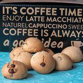 Biscuits italiens au café et aux pépites de chocolats - Les petits plats de Patchouka
