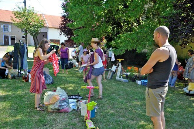 Le 2 août 2015 à Marthille, chez Céline et Sébastien. Photos prises par Arnold.
