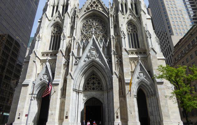 New York City, Saint Patrick's Cathedral - Mai 2017.