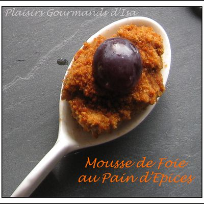 Mousse de Foie au Pain d'Epices