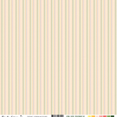 FDSF03407 FDSF03407 Feuille un air tropical - chevrons multicolores FEE DU SCRAP