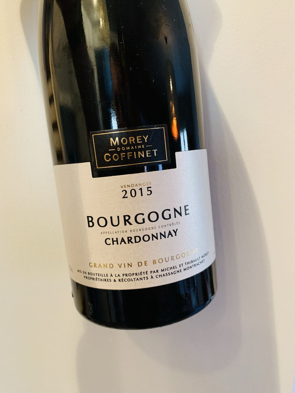 Bourgogne chardonnay 2015 Morey-Coffinet