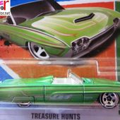 63 TBIRD HOT WHEELS 1/64 - FORD THUNDERBIRD CABRIOLET 1963 - car-collector.net
