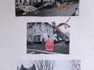 Enfants - Planche de BD à partir de photos du quartier
