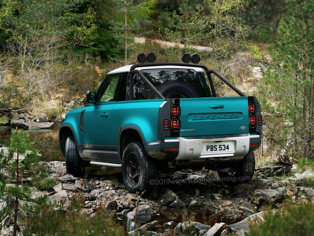 Land-Rover Defender 90 Pick-Up