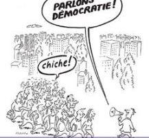 la démocratie consiste-t-elle à demander l'avis de chacun sur toutes choses?