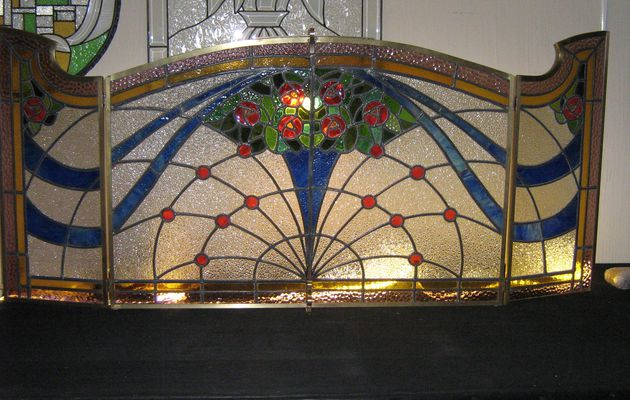 Modification de 4 vitraux en 1