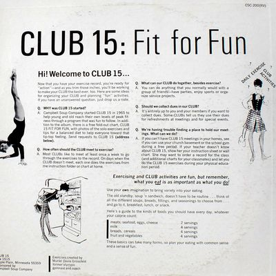 Club 15- FIT FOR FUN !