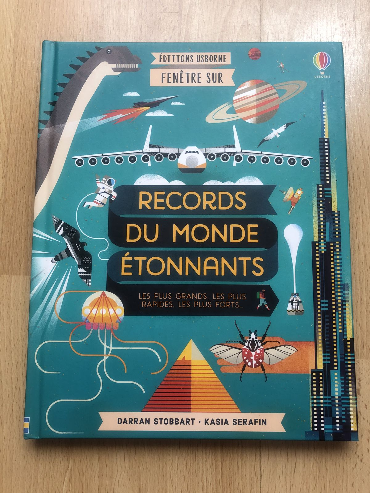 Records du monde étonnants Usborne