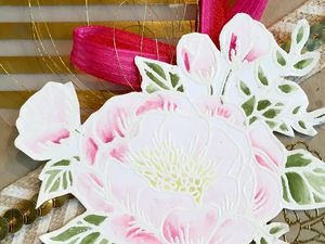 Carte fêtes des Mères tampons Fleurs d'anniversaire STAMPIN UP