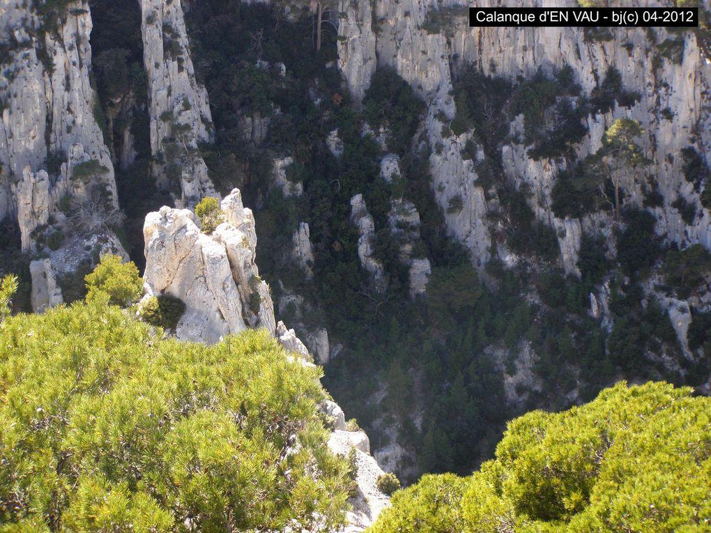 CALANQUE D' EN VAU - sentier côtier Cassis-Marseille - photos bj(c)04-2014 -