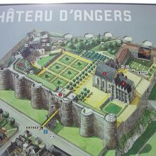 Château d'Angers (49100, Angers, France)