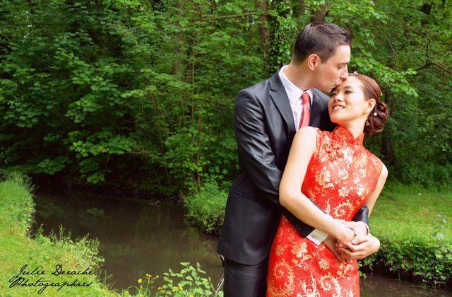 Coup de coeur de la semaine : la robe de mariée chinoise traditionnelle rouge
