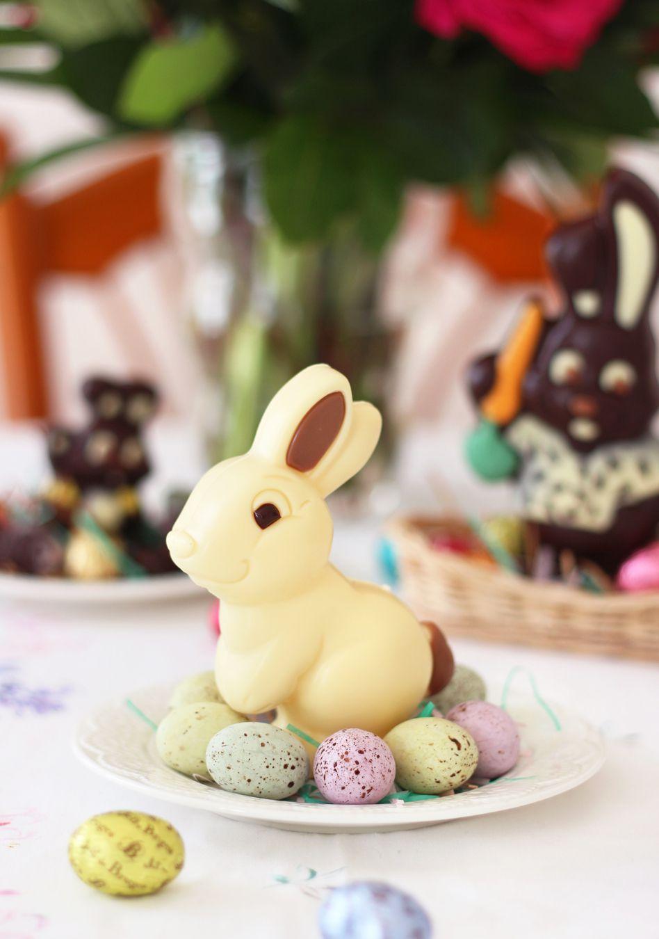 Lucien - lapin au chocolat blanc