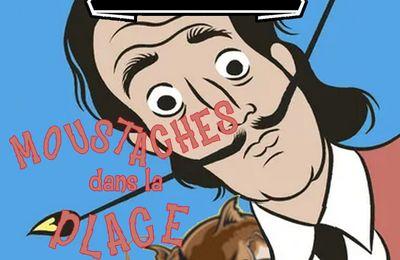 Moustaches dans la place