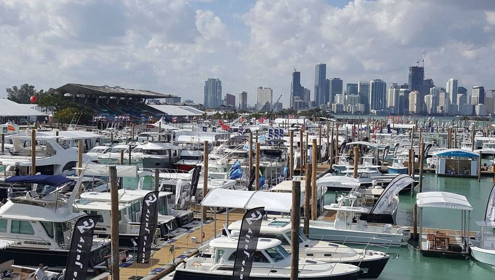 Video - The 2017 Miami Boat Show... by numbers !