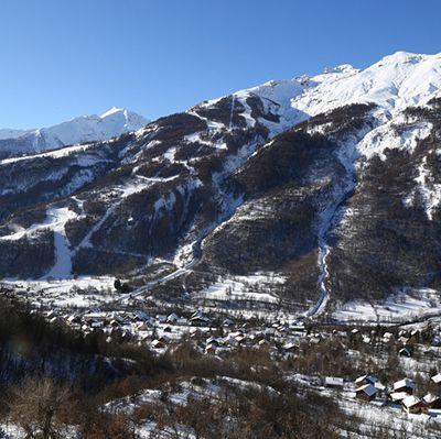 Pré ouverture de la station de ski de Pelvoux-Vallouise