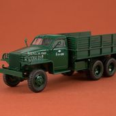 SSM1379 Studebaker US6 U3 flatbed truck /dark green/