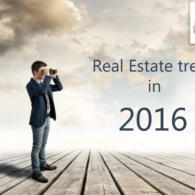 Real Estate trends in 2016