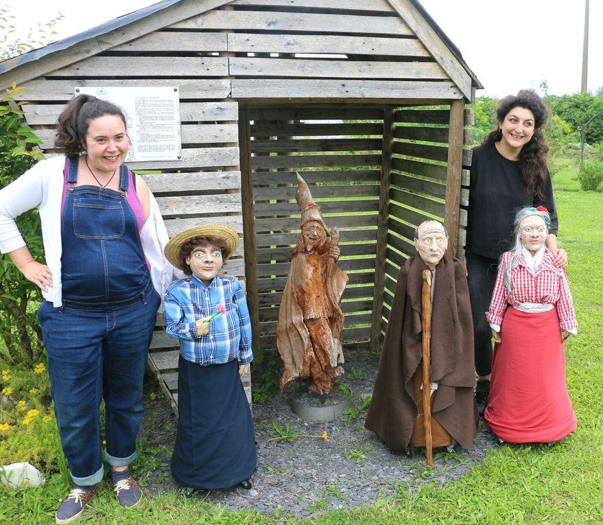 « Mini-géants et grandes histoires » au jardin de l'Ermite