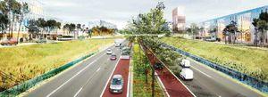 Le schéma de l'autoroute « pacifiée » publié par le Journal du dimanche, le 29/06/2014.