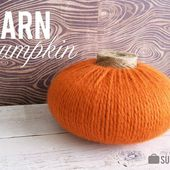 Yarn Pumpkin - My Sister's Suitcase - Packed with Creativity