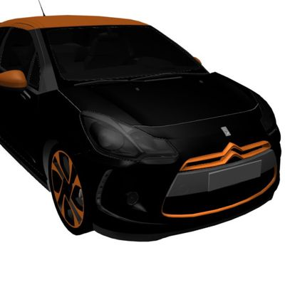 New Free 3D Modell: Citroen DS3 Racing 2011