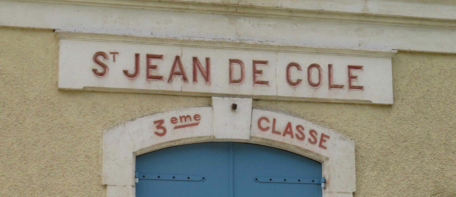 La gare de Saint Jean de Côle