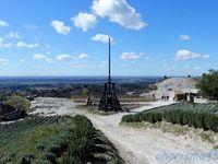 Les Baux de Provence, (Voyage en camping-car)