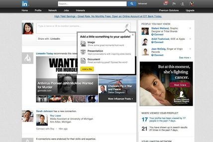 RT @mashable: LinkedIn Now Lets You Share Photos,...