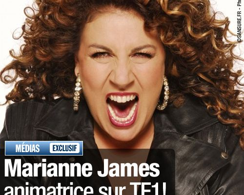EXCLUSIF / Marianne James animatrice sur TF1 !