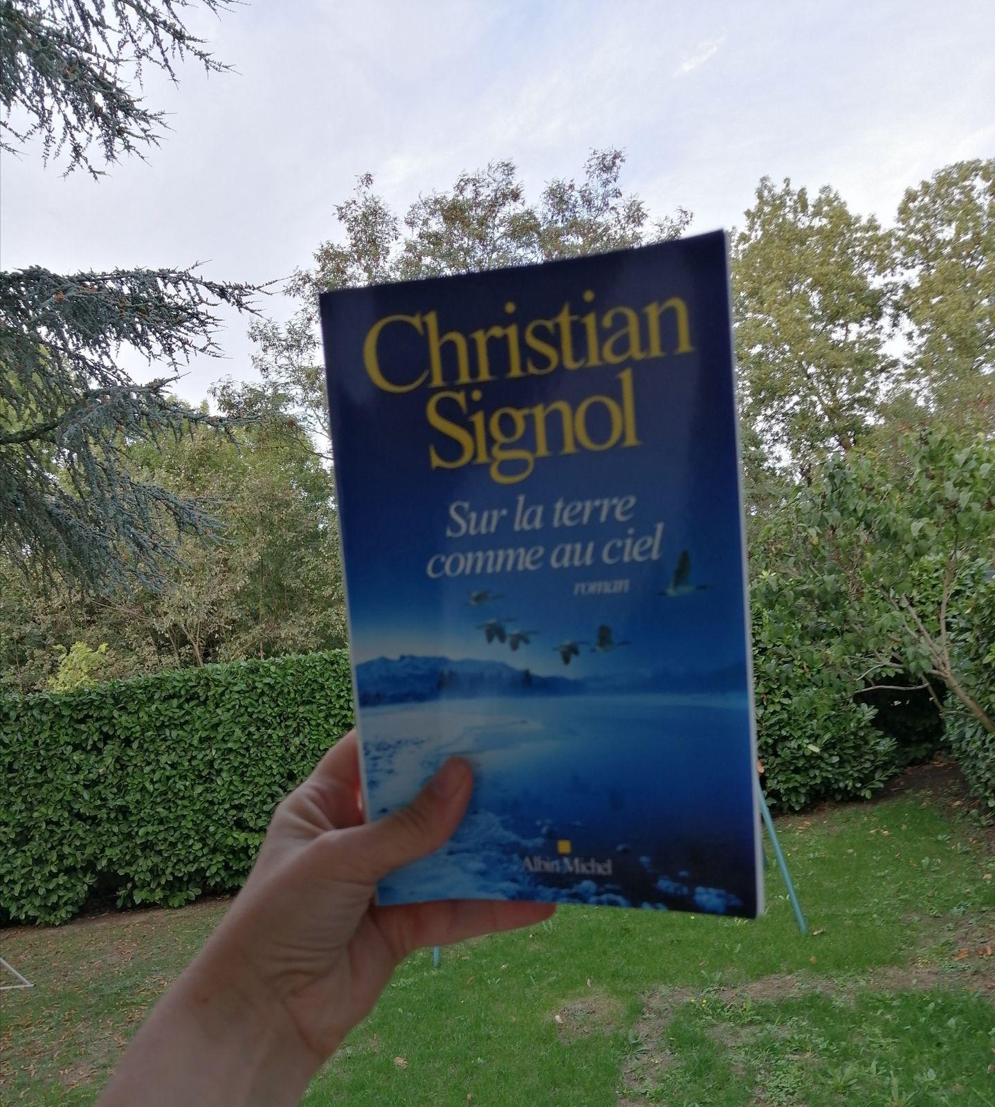 SUR LA TERRE COMME AU CIEL de Christian Signol