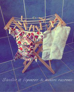 Lumière sur... la couche lavable Sunny Pocket (Eco Bébé)