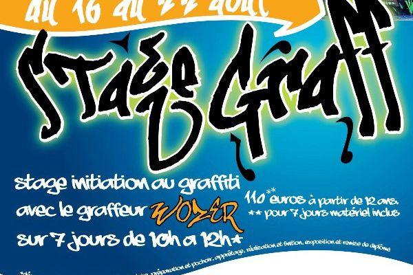 GRAFF...avec WOZER ...à la GALERIE TALENTS