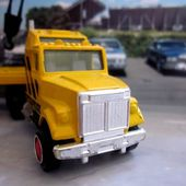 617-A SEMI GRUE MOBILE TELESCOPIQUE WHITE ENTERPRISE MAJORETTE 1/87 - car-collector.net