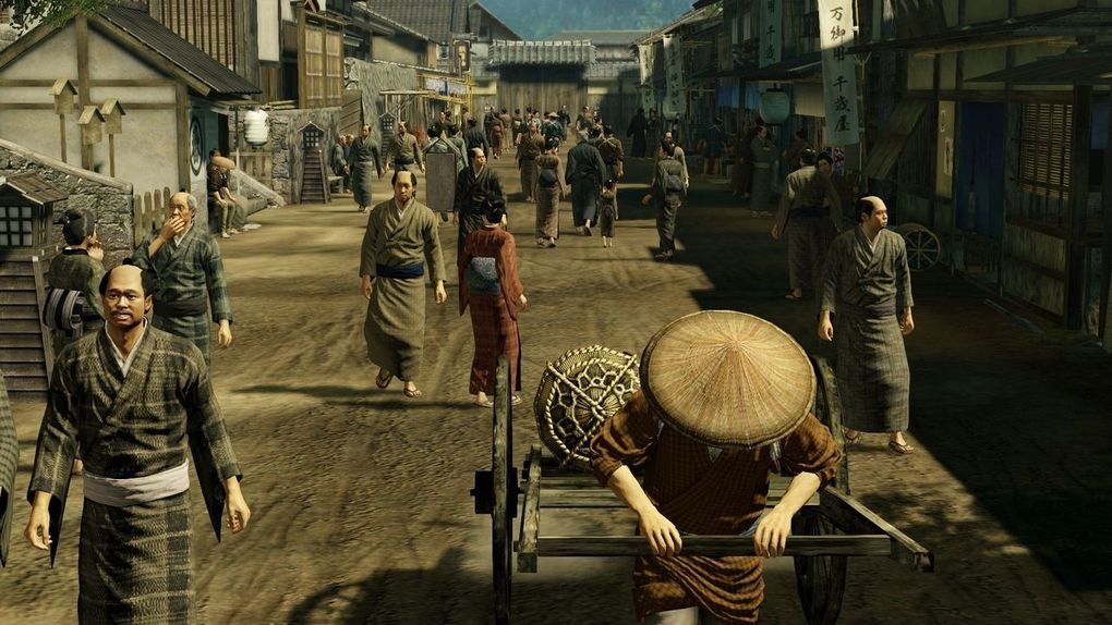 Yakuza Ishin se dévoile en images