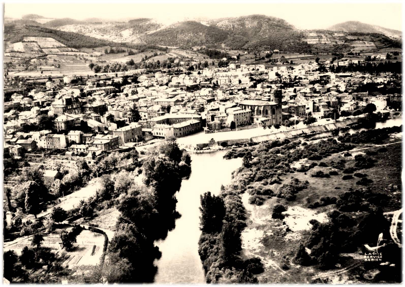 Langeac de 1950 à 1975