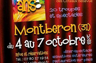 Festival de théâtre Bellevue en Scène du 04 au 07 octobre 2018 à Montberon